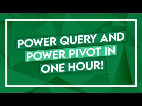 Power Pivot Tutorial & Power Query in Excel - 1-Hour Class - YouTube