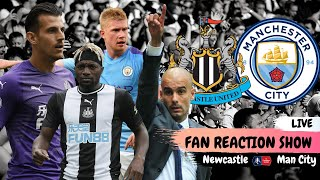 Newcastle United - Manchester City - Live fan reaction show