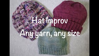 How to Knit a Hat Without a Pattern // Technique Tuesday