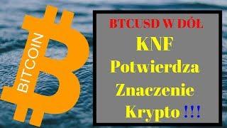 Bitcoin: KNF Potwierdza Znaczenie Krypto !! BTC analiza 08.11.2018
