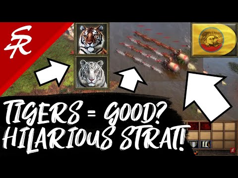 TIGERS are Overpowered?! WHAT!?! | Strategy School | Age of Empires III