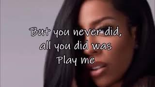 K. Michelle   Save Me (LYRICS)