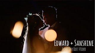 EDWARD AND SANSHINE BEACH WEDDING AT STILTS CALATAGAN BATANGAS