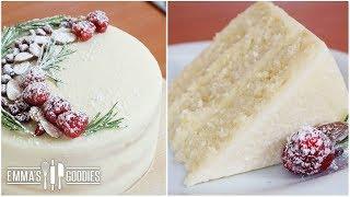 Almond White Cake Recipe – Amazingly Moist Cake