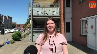 Verrassingsoptreden Antje Monteiro bij de Eekhof in Kaatsheuvel