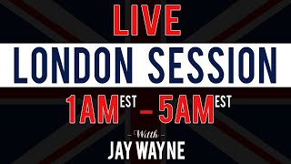 Patience Is Key - LIVE Forex London Session - 10/17/19