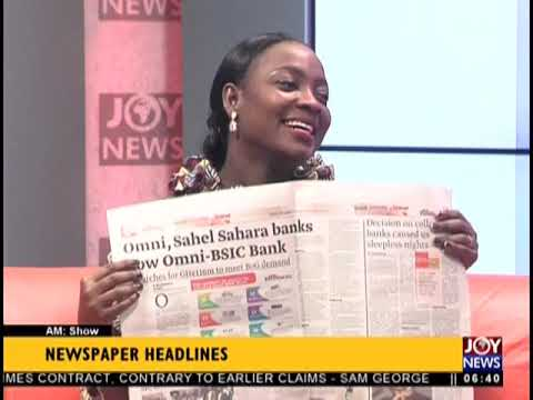 Menzgold Customers Issue Threats As Investments Lock Up - AM Show Headlines on JoyNews (20-9-18)