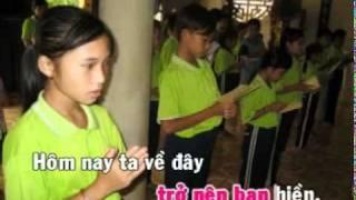 Karaoke 2 hom nay ve day