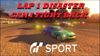 GT Sport Lap 1 Disaster Can I fight Back - Daily Race