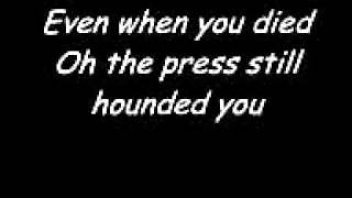Elton John  Candle In The Wind. With Lyrics