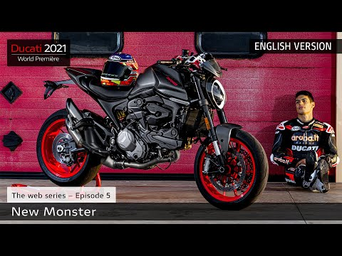 2021 Ducati Monster + in Fort Montgomery, New York - Video 1