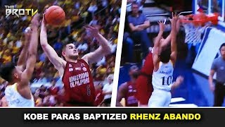 Kobe Paras Pinosterized si Rhenz Abando! | Intense 4th Quarter! | UP vs UST Epic Do-or-Die Game!