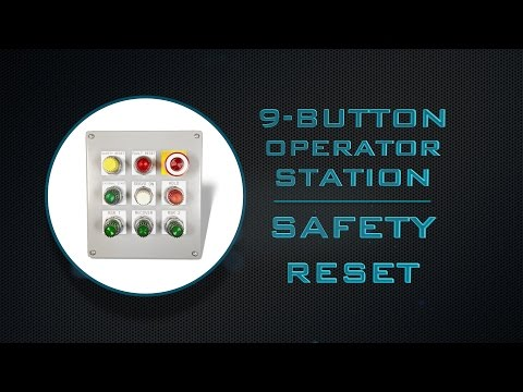 9 Button Op Station Safety Reset