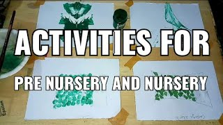 Activity Ideas for school for Green Day | The Tahreem Art
