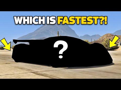 GTA 5 Online Which Is Fastest Super Cars (Max Speed, Price, Fastest & More!)