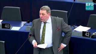 EU Orwellian propaganda machine subverting national democracies. David Coburn MEP