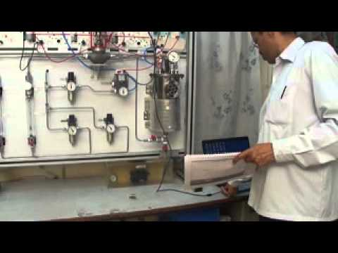Process Control Trainer Pressure Temp Flow