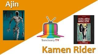 Manga Sanctuary - L'émission S01E11 - AJIN / KAMEN RIDER