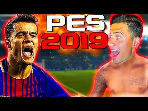 ПЕРВЫЙ РАЗ ИГРАЮ в PES 2019   Pro Evolution Soccer 19