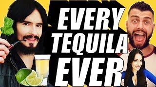 Irish People Try Every MEXICAN TEQUILA EVER!! + What's Inside Box Challenge (13)