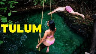 Tulum, Mexico 2020 - Is it Safe to Visit? - Laguna Kaan Luum + Al Pastor Tacos For 10 Pesos!