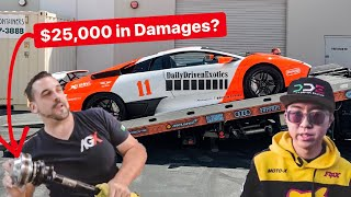 ALEX CHOI DISCOVERS $25,000 HIDDEN DAMAGES ON DDE LAMBORGHINI!