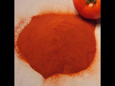Φτιάξτε σκόνη ντομάτας
