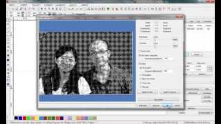 prepare photos for laser engraving with laserwork software, laser photo engraving tutorial