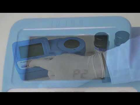 Funcionamiento del Fotómetro para la medición de cloro HI 96771