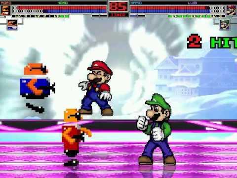 Bonanza Bros. vs Mario Bros. MUGEN BATTLE