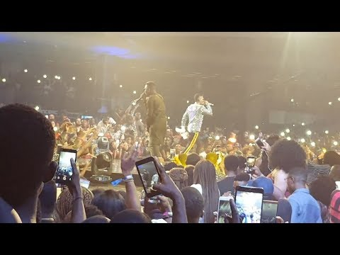 Olamide and Wizkid Performing WO On Stage { Nigerian Entertainment }