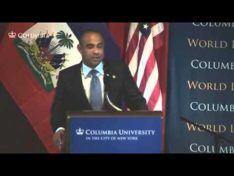 World Leaders Forum: Laurent Lamothe
