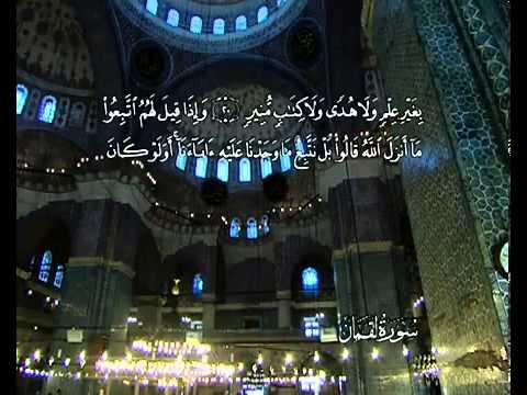 Sourate Luqman<br>(Luqman) - Cheik / Ali El hudhaify -
