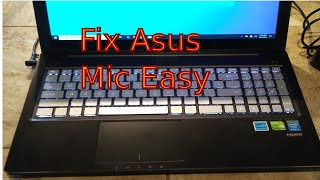 FIX MIC ON Asus Laptop Windows 10