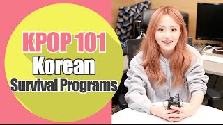 About Kpop Survival Shows ( Unpretty Rapstar ,Show Me The Money... )ㅣKpop 101 | Wishtrend