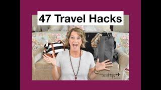 47 Travel Hacks (Tips and Tricks)