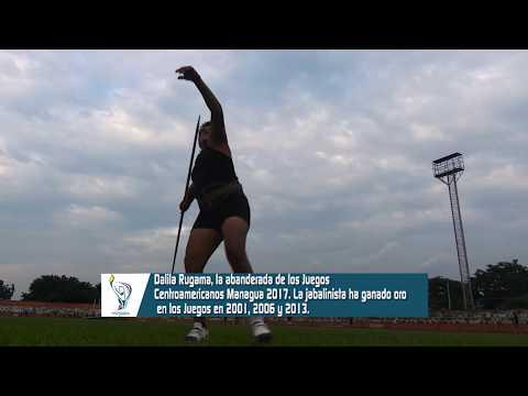 Dalila Rugama portará Bandera en Juegos Deportivos Centroamericanos
