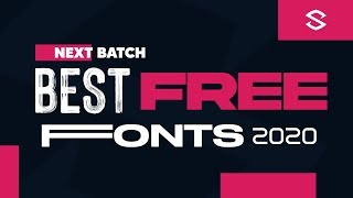 Best Free Fonts for Designers (2020) #2