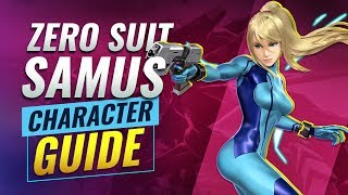 Learn How to Play Zero Suit Samus in Smash Bros Ultimate