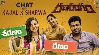 """RanaRangam"" Chat With Kajal and Sharwa    Mahathalli    Tamada Media"