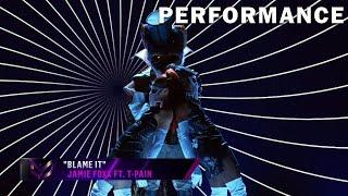 "Fox sings ""Blame It"" by Jamie Foxx ft. T-Pain | THE MASKED SINGER | SEASON 2"