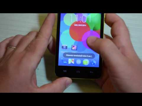 Foto Video recensione Wiko Bloom, Dual Sim Android 4.4
