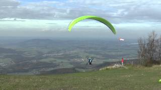 preview picture of video 'Paragliding Gaisberg 2014'