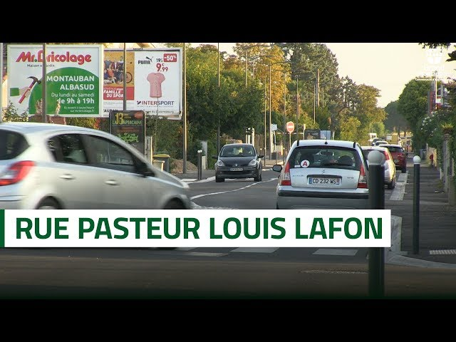 Inauguration de la rue Pasteur Louis Lafon