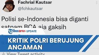 Viral Pengakuan Netizen Diancam Akan Dianiaya hingga Dibunuh setelah Kritik Polri di Media Sosial