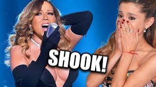 Famous People REACTING To Mariah Carey's INSANE VOCALS!