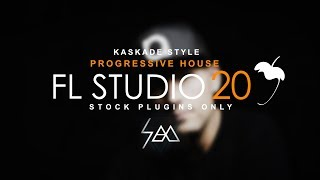 how to make progressive house fl studio 20 stock plugins - TH-Clip