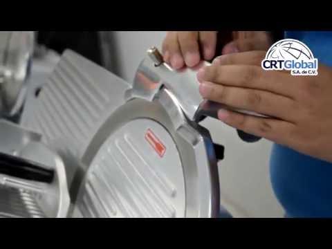 Rebanadora CRT 300ESB12 - CRTGlobal - Carnicería