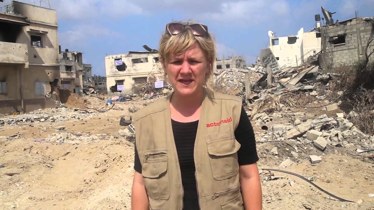 A harrowing day in Gaza as ActionAid helps those in need
