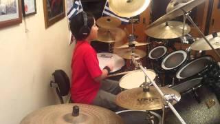 Taso Vamiadakis (You Met Your Match) Funk Drum Track